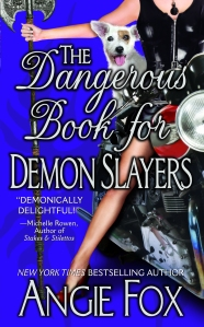 Angie Fox Dangerous Book cover